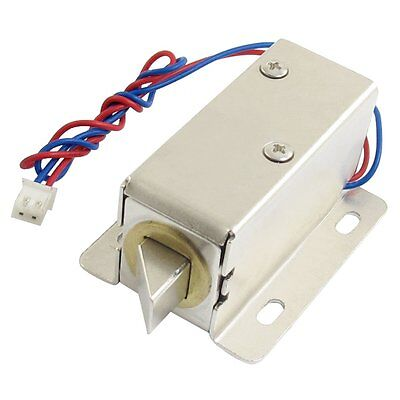 0837L DC 12V 8W Open Frame Type Solenoid for Electric Door Lock LW US Ship
