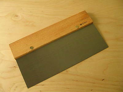 Large Size Hand Scraper 10in /250mm x 135mm x 1mm