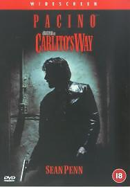 Carlito's Way Dvd Al Pacino Brand New & Factory Sealed