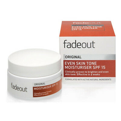 Fade Out Original Moisturising Cream Fades Pigmentation Marks And Age Spots 50ml