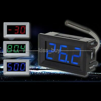 -30C-800C Thermocouple Digital LED  Temperature Thermometer Panel Meter