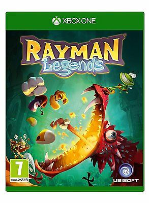 Rayman Legends: - (Xbox One) - NEW & SEALED - 3307215774595 - JF