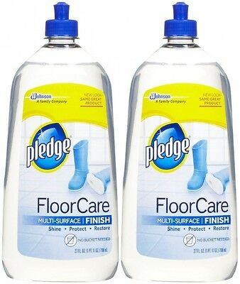 Pledge With Future Shine Floor Cleaner, 800ml-2 pk. Shipping is Free