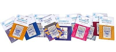 Sewing Machine Needles Schmetz -Buy 2 Get 1 FREE + Needle Guide & 1st Class Post