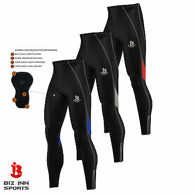 Mens Cycling Tights Winter Trouser Padded Coolmax Thermal Roubaix Leggings
