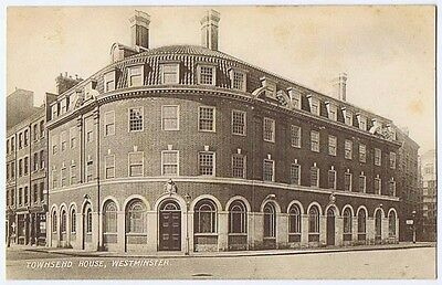 WESTMINSTER Townsend House Old Postcard