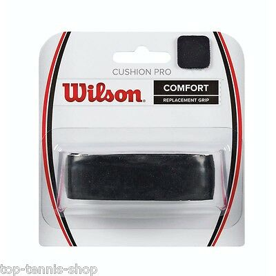 Wilson Cushion Pro Replacement Grip (Black) - (1-Pack)