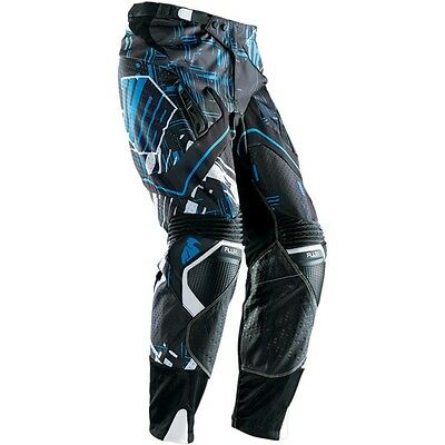 Pantalone Thor Flux Block Blue Taglia 36/52  Cross Enduro