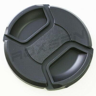 86mm Center Pinch Snap on Front Lens Cap Cover for Nikon Canon Sony DSLR camera
