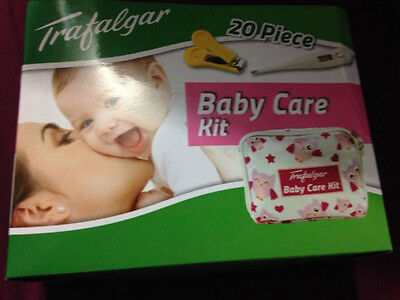 Trafalgar baby care kit - PINK  NEW IN BOX  FREE POSTAGE (B34)