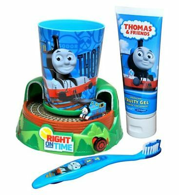 Thomas The Tank Engine & Friends Train Timer Toothbrush, Beaker & Toothpaste Set