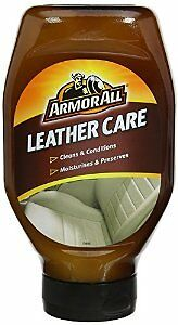 Armour All Leather Care 530ml Cleaner & Conditioner - Moisturises & Preserves