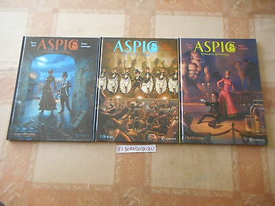 Eldoradodujeu > Bd Lot - Aspic Detectives De L'etrange 1-2-3 - Quadrants Eo Tbe