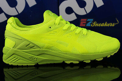 9f30d1411d254 ASICS GEL-KAYANO TRAINER Evo Mono Print Pack Lime H51Dq-0505 New Size 8.5