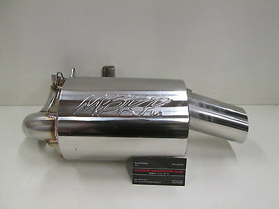 Arctic Cat Xf, Zr, M 9000 Mbrp Exhaust Silencer 2014-2016