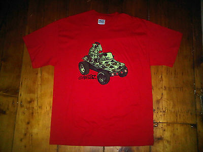 The Gorillaz NEW Large Album Cover Red Shirt 2001