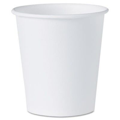 White Paper Water Cups, 3oz, 100/Pack