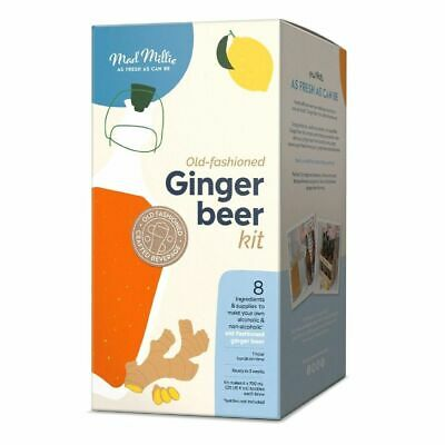 NEW MAD MILLIE OLD FASHIONED GINGER BEER KIT Alcohol Alcoholic + Non-Alcoholic
