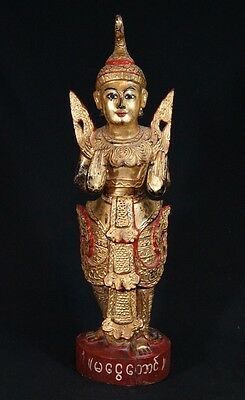 Antique Burmese Nat statue from Burma | Antique Buddha Statues