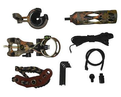 Camo Upgrade Compound Bow Accessories Kit Bow Sight Bows Stabilizer Arrow Rest