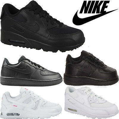 Boys Girls Nike Air Max TD Leather Toddlers Inftants Trainers Shoes Sizes Uk