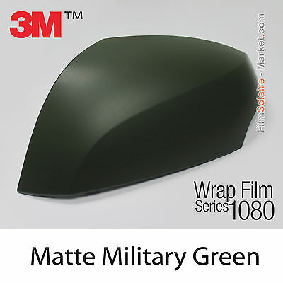 10x20cm FILM Matte Military Green 3M 1080 M26 Vinyle COVERING New Series Wrap