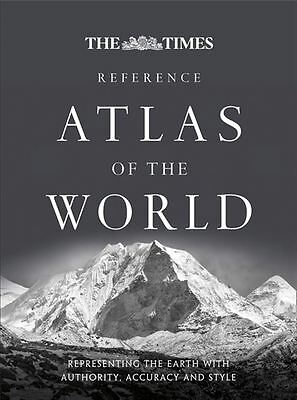 The Times Reference Atlas of the World [Sixth Edition] - Hardback - NEW - Book