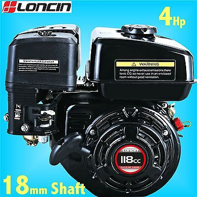 Loncin G120F-M 4Hp Stationary Engine for Wacker Plate replaces Honda GX120