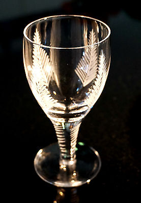 Beautiful Stuart Woodchester Crystal Dessert Wine Glasses