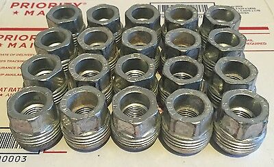 2010-2016 Used Camaro Factory OEM Lug Nuts X20 14X1.5mm Dual Thread Holds Caps