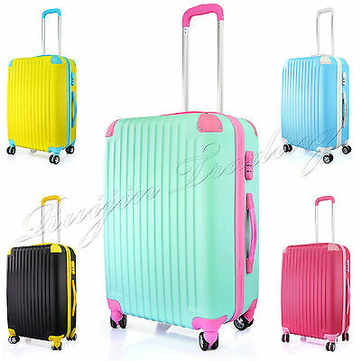 Lightweight Luggage Travel Suitcase Trolley Case Cabin Carry On Hand Travel 24''