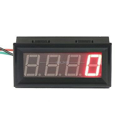 Digital LED Engine Tachometer 60-9999 RPM Speed Gauge Tester Meter 12v 24v RED
