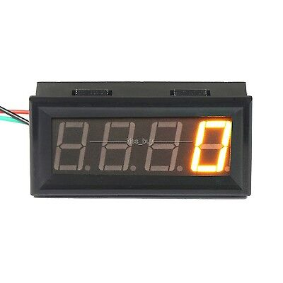 Digital LED Engine Tachometer 60-9999 RPM Speed Gauge Tester Meter 12v 24v YELLO