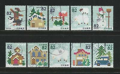 Japan 2014 'Christmas' Complete Set In FU Condition.