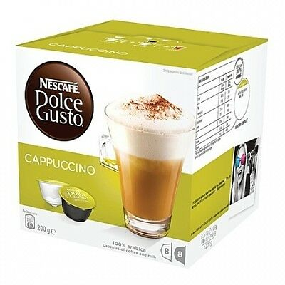 Nescafe Capsules Cappuccino 8 Pack. Free Delivery
