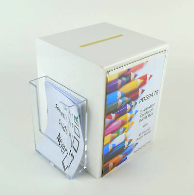 Suggestion Box / Collection / Ballot / Comment / Charity Box PDS9470 White