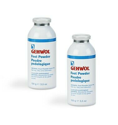 Gehwol Foot Powder - Anti Fungal | Athlete's Foot | Anti odour 100g x 2 MultiBuy