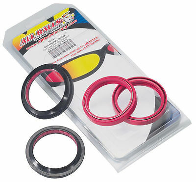All Balls Racing Fork Oil Seal & Dust Wiper Seal Kit  56-129