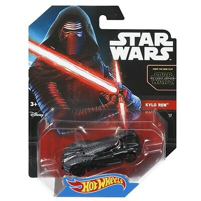 Hot Wheels® Star Wars™ Kylo Ren™ Character Car 17