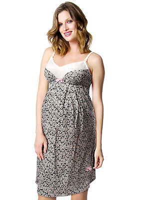 New - HOTmilk - Charm Nightie in Floral Print - Maternity Clothing