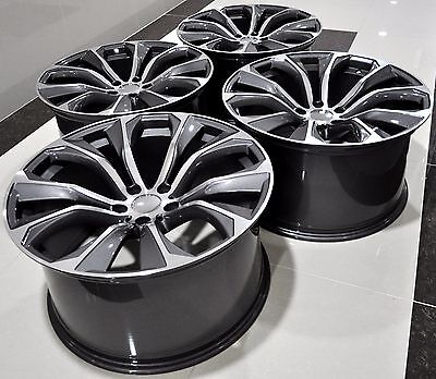 """20"""" 2016 X6 M Style Staggered Wheels Rims Fit Bmw X5 X6 1262 Gm"""