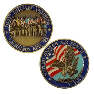 Air Force Basic Military Training - Lackland AFB Challenge Coin