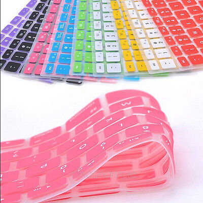Hot! Silicone Keyboard Cover Skin For Apple Macbook Pro MAC 13 15 17 Air 13 t53