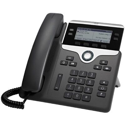 Cisco CP-7841-K9= Cisco 7841 IP Phone - Cable - Wall Mountable - 4 x Total Line