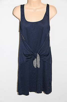 Tommy Hilfiger Swim Cover Up Board Skirt Sz XS Core Navy i10