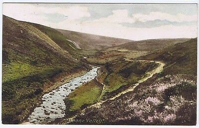 DOONE VALLEY Frith Postcard Postally Used c1910s