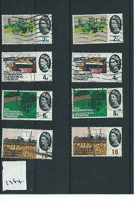 Gb - Wholesale Commems - 1964 - Geographical Congress - Two Sets - Used