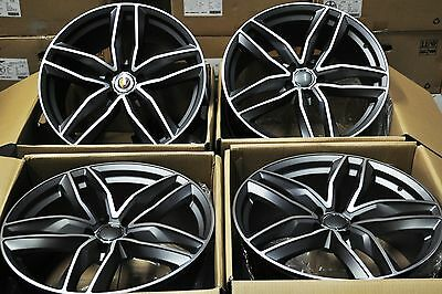 "19"" Rs6 Avant Style Wheels Rims Fit Audi A3 A4 A6 A8 S3 S4 S6 Q3 Tt Golf Cc 1196"