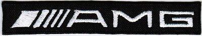 AMG Mercedes-Benz Motor Company Automaker Car Racing Iron On Embroidered Patch