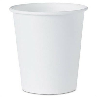 White Paper Water Cups, 3oz, 100/Pack - x 2